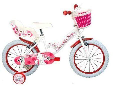 bicicleta kitty charmy  - Bicicleta de Hello Kitty