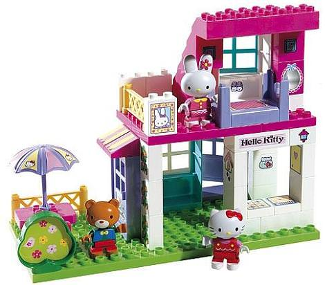 Casa kitty de juguete hello kitty en - La casa de kitty ...