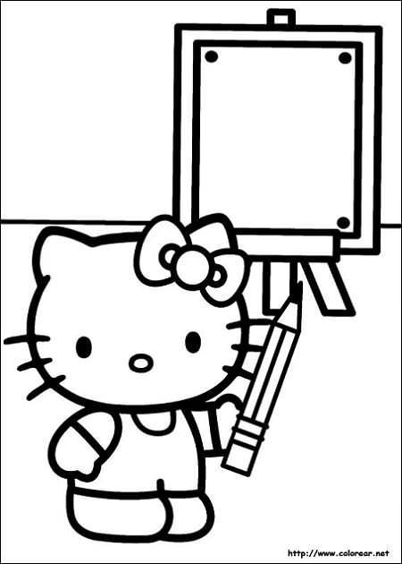 Dibujo de Kitty