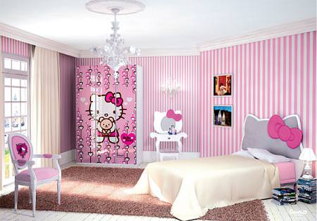 Dormitorio infantil Kitty