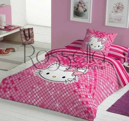 5 fundas n rdicas hello kitty - Carrefour fundas nordicas infantiles ...
