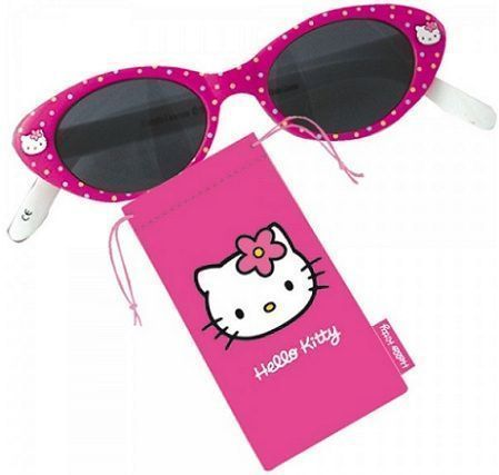 gafas kitty lunares