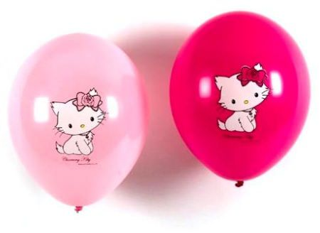 globos kitty amiga