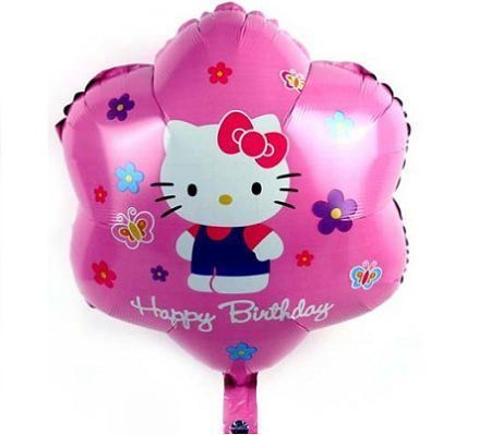 globos kitty helio