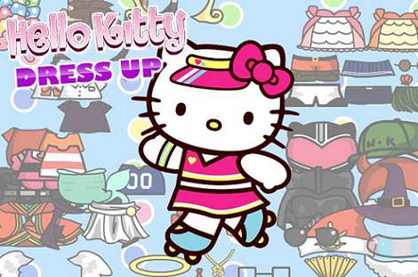 hello kitty juego vestir