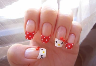 Manicura Hello Kitty