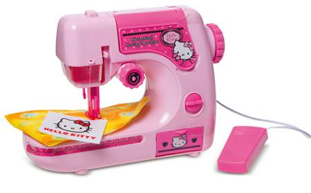 Máquina de coser Hello Kitty