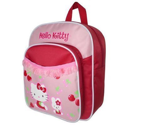 mochila hello kitty cerezas