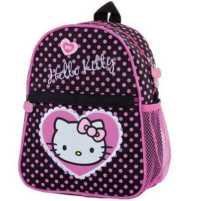 mochila hello kitty lunares