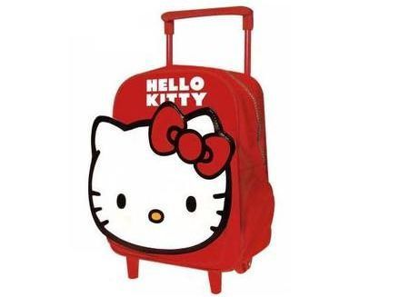mochila hello kitty ruedas  - Mochila Hello Kitty