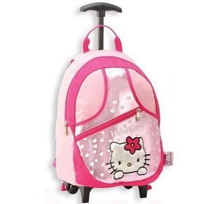 mochila hello kitty trolley