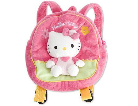 mochilla escolar hellokitty  - Mochila Hello Kitty