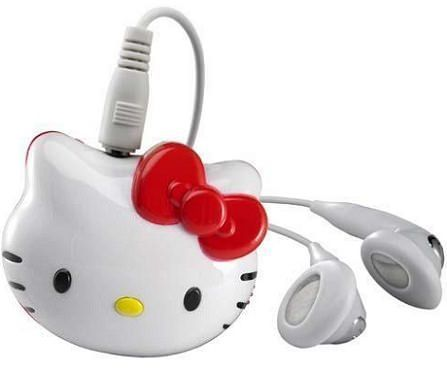 mp3 hello kitty rojo