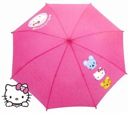 paraguas-kitty-rosa  - Paraguas de Hello Kitty