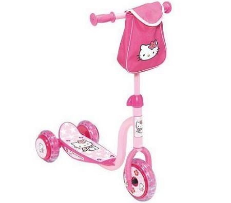 patinete kitty rosa