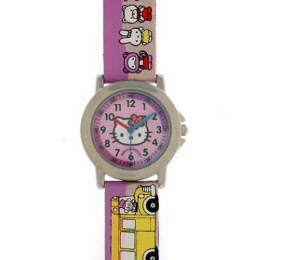reloj kitty colores