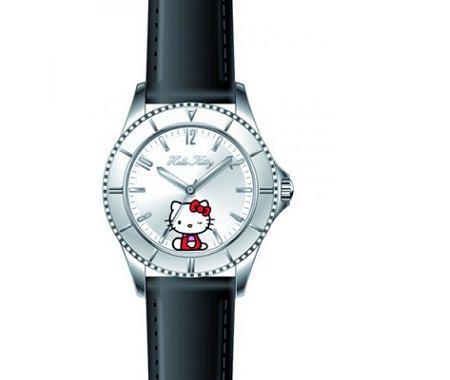 reloj kitty piel  - Relojes Hello Kitty