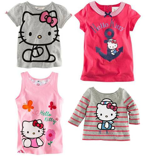 ropa hello kitty hm camisetas