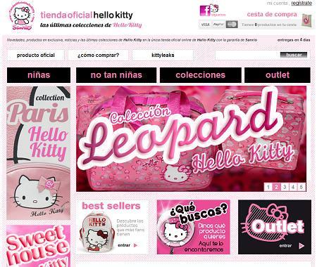 Tienda oficial de Hello Kitty