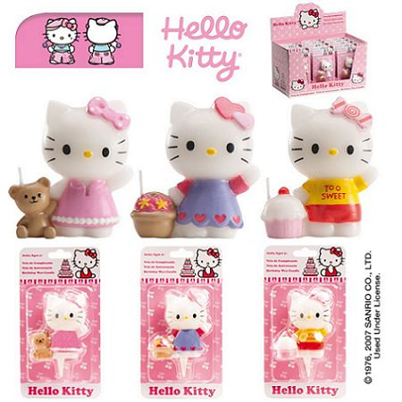velas kitty muneca