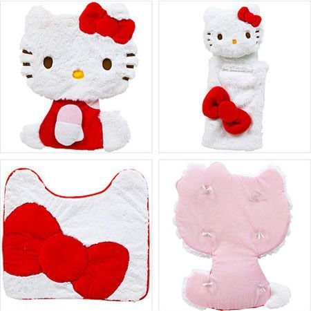 baño kitty kit  - Baño de Hello Kitty