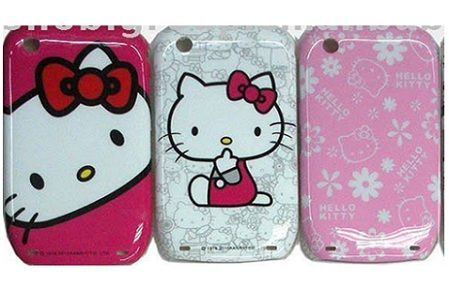 blackberry hello kitty fundas goma  - Blackberry Hello Kitty