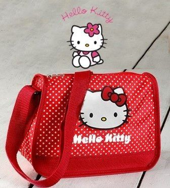 bolsos kitty rojo