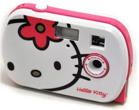 camara hello kitty blanca