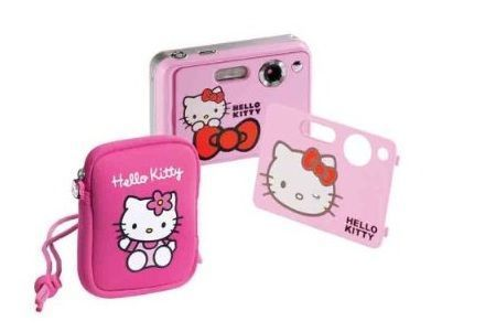 camara hello kitty carcasa