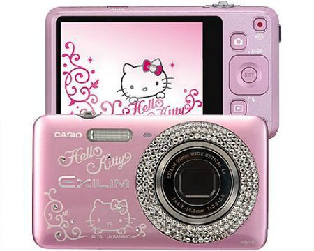 camara hello kitty cristales  - Cámara Hello Kitty