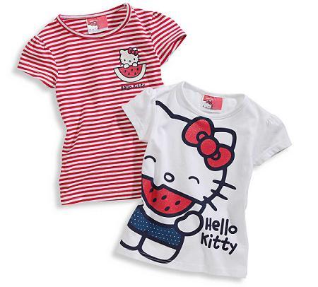 Camisetas Hello Kitty de C&A