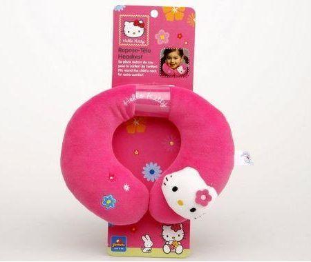 coche hello kitty accesorios almohada