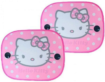 coche hello kitty accesorios parasol lateral