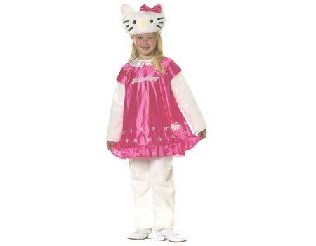 disfraz hello kitty vestido