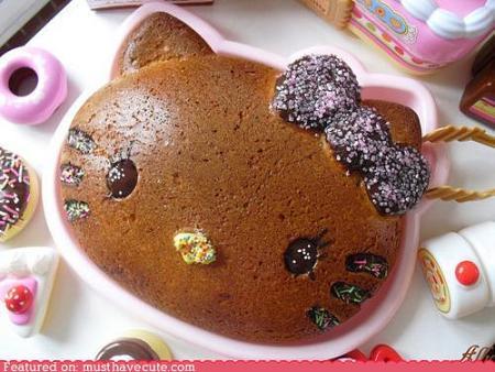 Hello Kitty bizcocho