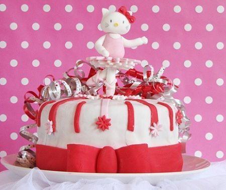 hello kitty cumpleanos tarta  - Cumpleaños Hello Kitty