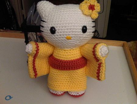 Amigurumi Hello Kitty Hello Kitty en MundoKitty.com