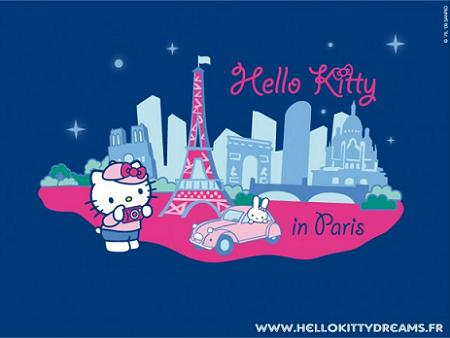 Hello Kitty en París