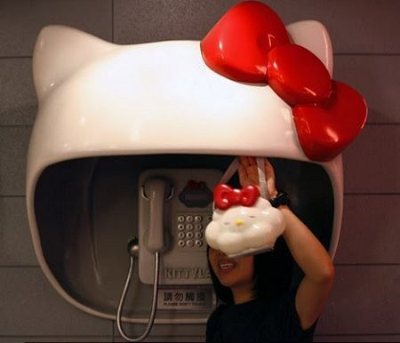 imagenes hello kitty cabina