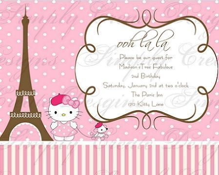 invitacion hello kitty paris