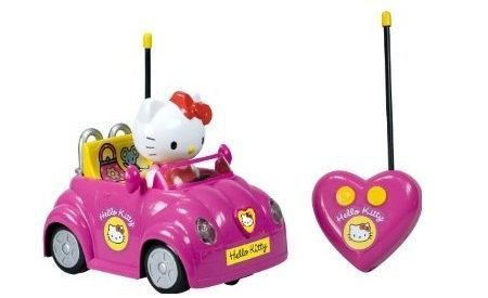 juguetes hello kitty coche radiocontrol