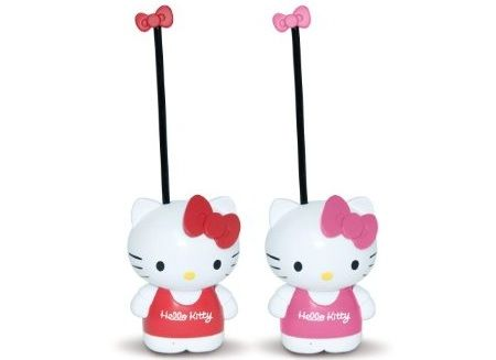 juguetes hello kitty walkie talkie