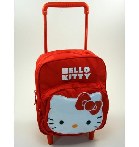 Mochila roja Hello Kitty