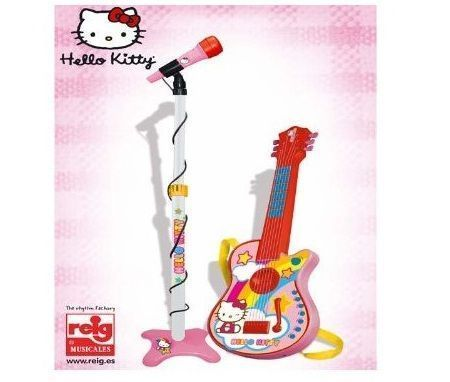 musica hello kitty guitarra micro