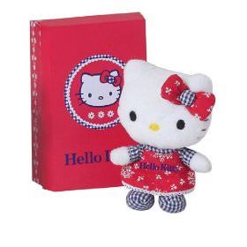 peluches hello kitty  - 10 peluches Hello Kitty