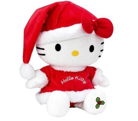 peluches hello kitty navidad  - Peluches de Hello Kitty originales