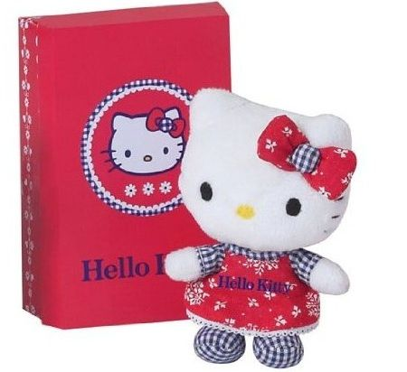 peluches hello kitty pequeno  - Peluches de Hello Kitty originales