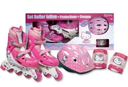 regalos nina kitty patines  - Regalos niñas Hello Kitty