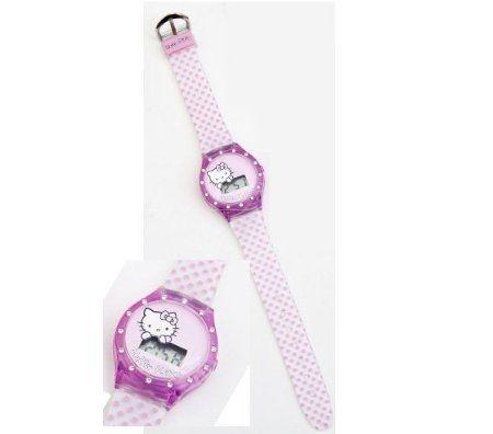 reloj kitty cuadros plastico