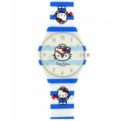 reloj kitty marinero plastico